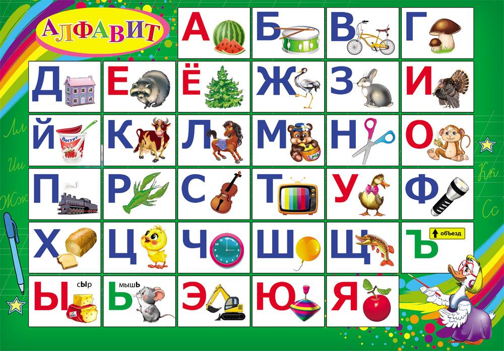 Фото алфавита с картинками